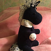Куклы и игрушки ручной работы. Ярмарка Мастеров - ручная работа Вязаный единорог. Handmade.