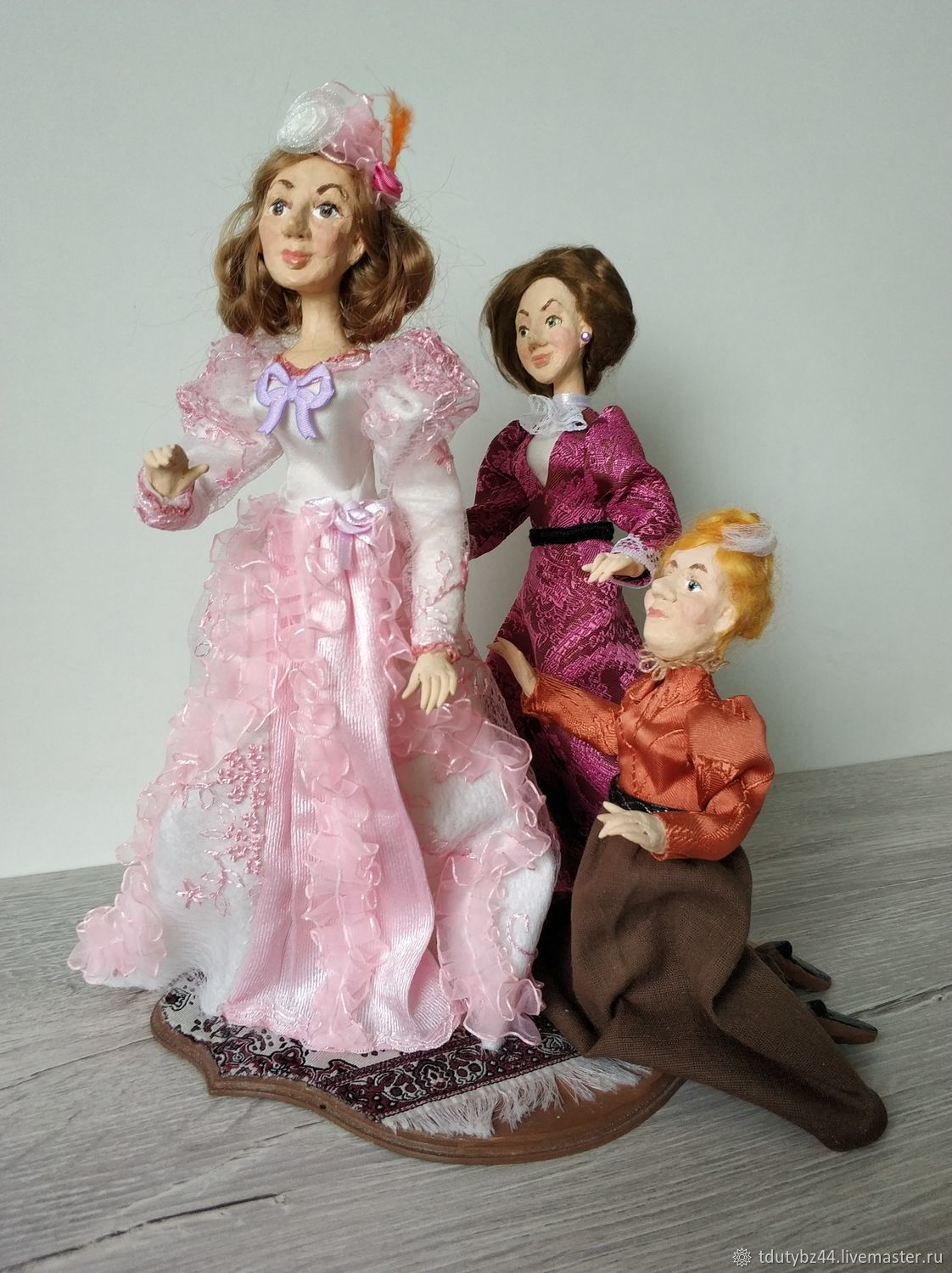 Author's doll BEFORE PUBLICATION, Dolls, Moscow,  Фото №1