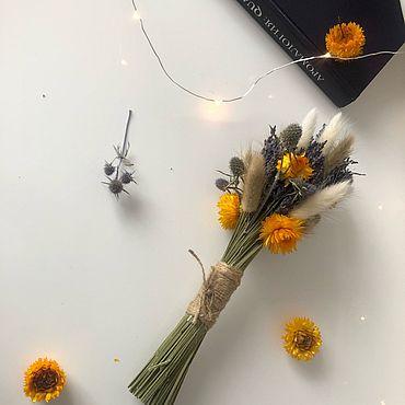 Цветы и флористика ручной работы. Ярмарка Мастеров - ручная работа Букет «Нечаянная радость». Handmade.
