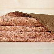 Материалы для творчества ручной работы. Ярмарка Мастеров - ручная работа Плюш винтажный 27. Handmade.