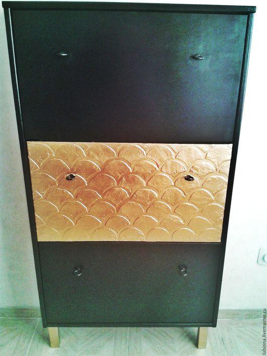 """Мебель ручной работы. Ярмарка Мастеров - ручная работа. Купить Комод """"золотая рыбка"""". Handmade. Черный, мебель ручной работы"""