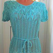 Одежда handmade. Livemaster - original item Knitted summer dress.. Handmade.
