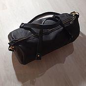 Дорожная сумка ручной работы. Ярмарка Мастеров - ручная работа Кожаная дорожная сумка. Handmade.