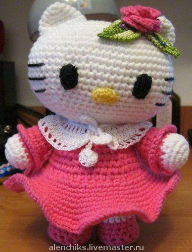 Игрушки животные, ручной работы. Ярмарка Мастеров - ручная работа. Купить Hello Kitty. Handmade. Hello Kitty, Хелло Китти