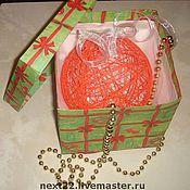 Подарки к праздникам ручной работы. Ярмарка Мастеров - ручная работа Шар из ниток. Handmade.