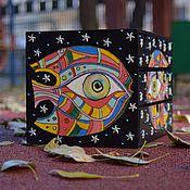 """Мини-комоды ручной работы. Ярмарка Мастеров - ручная работа Мини-комод """"Рыба в космосе"""". Handmade."""