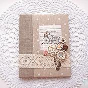 Канцелярские товары handmade. Livemaster - original item Cover school diary