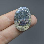 Материалы для творчества handmade. Livemaster - original item Indonesian moss agate. Cabochon 30h21h6,5. Handmade.