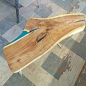 Столы ручной работы. Ярмарка Мастеров - ручная работа Стол из слэба в экостиле. Handmade.