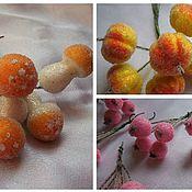 Сахарные ягоды для рукоделия своими руками 81