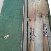 Винтаж handmade. Livemaster - original item Vintage Cutlery serving set.England. Handmade.