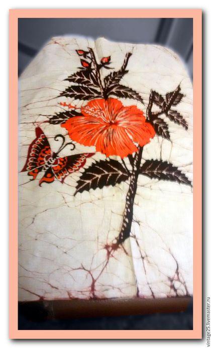 Винтажная одежда и аксессуары. Ярмарка Мастеров - ручная работа. Купить Купон из ткани ручная роспись по ткани. Handmade. Комбинированный, свадьба