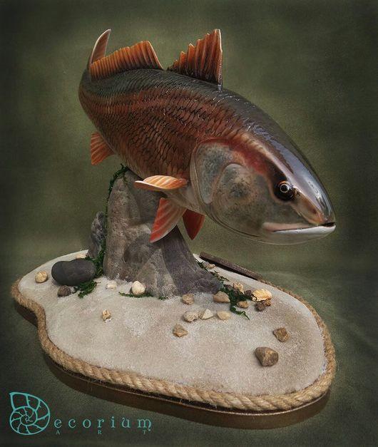 Персональные подарки ручной работы. Ярмарка Мастеров - ручная работа. Купить Рыба. Рыба Горбыль. Рыба из дерева.. Handmade. Раба