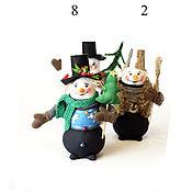 Подарки к праздникам handmade. Livemaster - original item Snowmen: snowman handmade. Handmade.