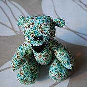 Куклы и игрушки ручной работы. Ярмарка Мастеров - ручная работа Цветастый мишка. Handmade.