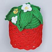 """Работы для детей, ручной работы. Ярмарка Мастеров - ручная работа шапочка """"Ягодка"""". Handmade."""