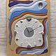 """Часы для дома ручной работы. """"НАЧАЛО"""" из песка часы авторские. Студия Кварцевой живописи А.Нартова. Интернет-магазин Ярмарка Мастеров."""