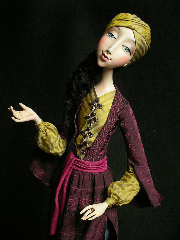 """Collectible Dolls handmade. Livemaster - handmade. Buy Doll """"Tale of Scheherazade"""".Art doll, paperclay"""