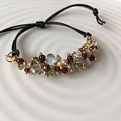 Украшения handmade. Livemaster - original item The bracelet is made of gemstones