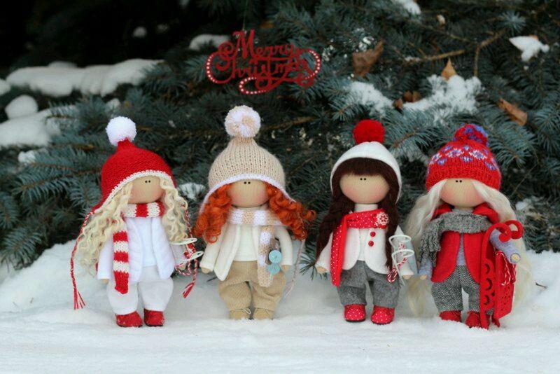 Текстильная кукла, Куклы, Казань, Фото №1