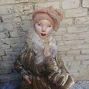 handmade. Livemaster - original item Interior doll, collectible