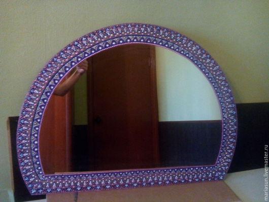"""Зеркала ручной работы. Ярмарка Мастеров - ручная работа. Купить Зеркало настенное """"Нежность"""". Handmade. Зеркало настенное, Необычное зеркало"""
