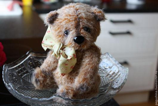 """Мишки Тедди ручной работы. Ярмарка Мастеров - ручная работа. Купить Вязаный медвежонок """"Тимоша"""". Handmade. Коричневый, мишки, платика"""