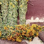 Травы ручной работы. Ярмарка Мастеров - ручная работа Зверобой - скрутка для окуривания. Handmade.