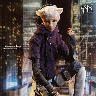 Куклы и игрушки ручной работы. Ярмарка Мастеров - ручная работа Ичи (neko boy), 28 см. Handmade.