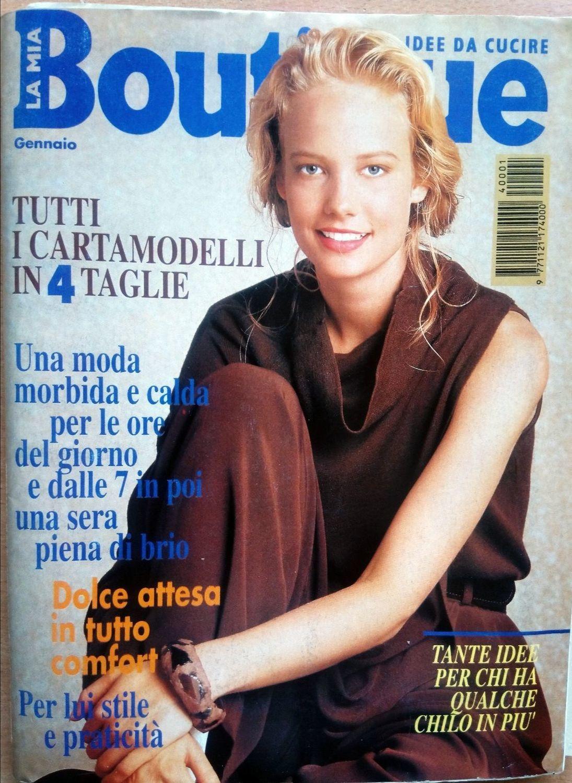 Журнал BOUTIQUE январь, 1994 г, Выкройки для шитья, Москва,  Фото №1