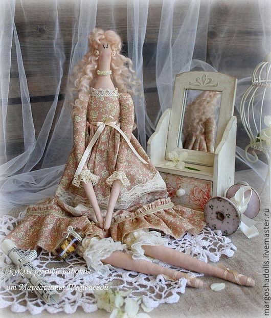 Куклы Тильды ручной работы. Ярмарка Мастеров - ручная работа. Купить Ванильно-кремовая фея Джульетта. Handmade. Кремовый