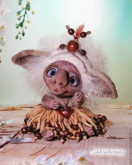 Мишки Тедди ручной работы. Ярмарка Мастеров - ручная работа. Купить Любишка Марбуша - хранительница любви.... Handmade. Комбинированный, тедди