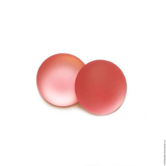 Для украшений ручной работы. Ярмарка Мастеров - ручная работа. Купить Lunasoft кабошон  18 мм  Watermelon круглый. Handmade.
