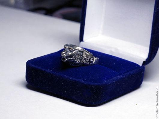 """Кольца ручной работы. Ярмарка Мастеров - ручная работа. Купить Серебряное кольцо """"Волк"""". Handmade. Серебряный, кольцо с волком, волчий"""