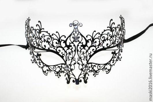 Карнавальные костюмы ручной работы. Ярмарка Мастеров - ручная работа. Купить карнавальная маска Металлическая 2. Handmade. маскарадная маска