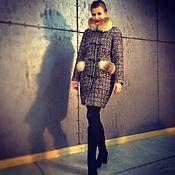 Одежда ручной работы. Ярмарка Мастеров - ручная работа Пальто зимнее , демисезонное. Handmade.