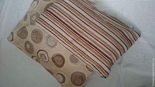 Текстиль, ковры ручной работы. Ярмарка Мастеров - ручная работа. Купить наволочки для диванных подушек. Handmade. Коричневый, диванная подушка