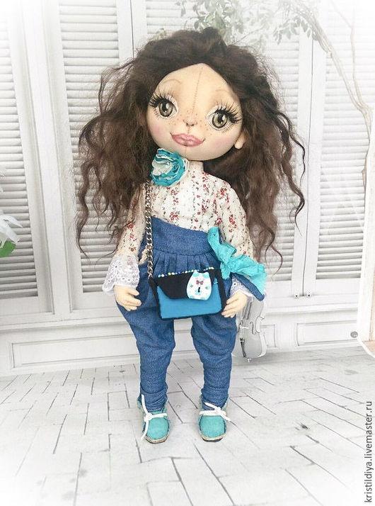 Кукла текстильная купить. Кукла Алена. Art doll