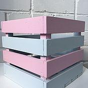 Ящики ручной работы. Ярмарка Мастеров - ручная работа Ящик для игрушек. Handmade.