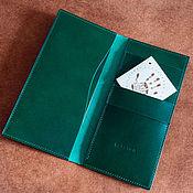Сумки и аксессуары handmade. Livemaster - original item Long wallet / leather wallet. Handmade.
