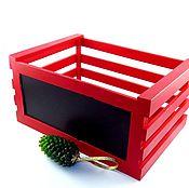 Для дома и интерьера handmade. Livemaster - original item The little red box. Handmade.