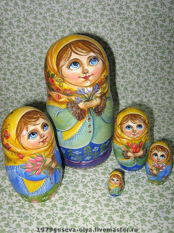 """матрёшка """"Цветы весны"""", Матрешки, Красногорск, Фото №1"""