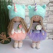Куклы и пупсы ручной работы. Ярмарка Мастеров - ручная работа Интерьерная текстильная кукла. Handmade.