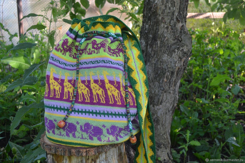 """Колумбийская мочила """"Африка"""" (Mochila), Сумка-торба, Самара,  Фото №1"""