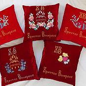 Подарки к праздникам ручной работы. Ярмарка Мастеров - ручная работа Пасхальные подушки. Handmade.