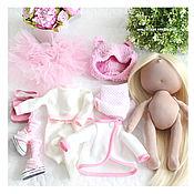 """Куклы и игрушки ручной работы. Ярмарка Мастеров - ручная работа Игровая текстильная кукла """"Sweet rose"""". Handmade."""