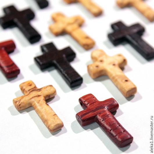 крестики нательные из ценных пород дерева
