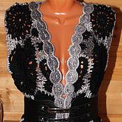 Одежда ручной работы. Ярмарка Мастеров - ручная работа Жилет связан крючком в технике фриформ. Handmade.