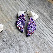 Украшения ручной работы. Ярмарка Мастеров - ручная работа Серьги Этнические. Handmade.