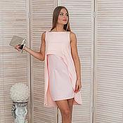 """Одежда ручной работы. Ярмарка Мастеров - ручная работа Платье розовое коктейльное """"подружка невесты"""". Handmade."""